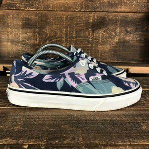 Vans Off The Wall Womens Floral Skate Shoes Sz 5.5